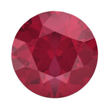 Lab Created Loose Round Ruby Diamond 5mm Fast & Free Delivery AAAAA