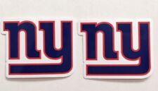 2x New York Giants Car Bumper Laptop Phone Wall Vinyl Die Cut Sticker Decal