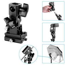 Schwarz B Typ Kamera-Blitz Montage Schwenk Lampenstativ Halterung für Speedlite