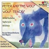 Peter & The Wolf: Wolf Tracks, Mikhail Gorbachev, Kent Nagano, , Very Good Impor