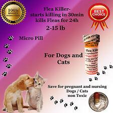 Flea Killer Dogs / Cats 2-15lb 6x micro 10mg generic Capstar Sealed Control