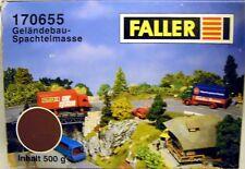 Faller 170655: Geländebau-Spachtelmasse 500g, NEU & OVP,  100g=2,99€