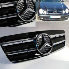 Mercedes W208 A208 C208 1997–2004 CLK GRILLE SPORT GRILLE CHROME/Black