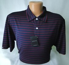 Dunning Golf Polo Lightweight Performance PGA Tour Quality MSRP $89 NWT Nice -LG