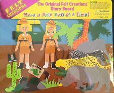 FELT CREATIONS STORY BOARD ~ SAFARI ~ NEW AND SEALED