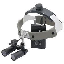Medical Binocular Loupes Kepler Dental Loupe Surgical Examination Magnifier Led