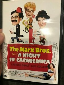 A Night In Casablanca region 1 DVD (1946 The Marx Brothers comedy movie)