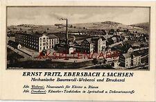 Reklame Ansichtskarten aus Sachsen