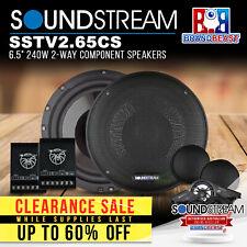 Soundstream Tarantula Sstv2.65cs 120w RMS 6.5 Inch 2-way Component Speakers Pair