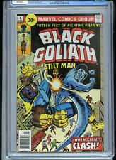 Black Goliath #4 CGC 9.6 White Pages 30 Cent Variant Tied for Highest Grade