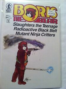 BORIS THE BEAR (1987) # 1 - Dark Horse Comics - VF/NM - 2nd Printing