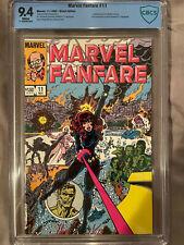 Marvel Fanfare #11 CBCS 9.4 1983 (Not CGC)