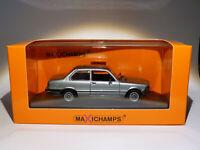 BMW 323i E21 de 1975  au 1/43 de Minichamps / Maxichamps