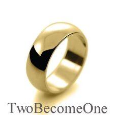 9 Carat Yellow Gold Band Rings for Men