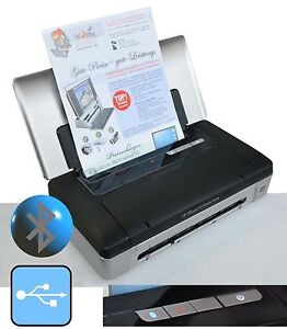 Wireless Mobile Printer HP Officejet 100USB & Bluetooth For Windows XP 7 8 10