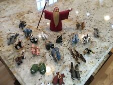 Department 56 NOAH with 21 sets of animal ornaments
