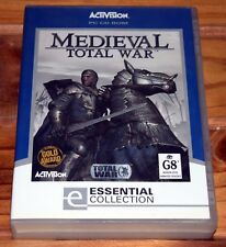 Medieval: Total War PC Game Complete in Box