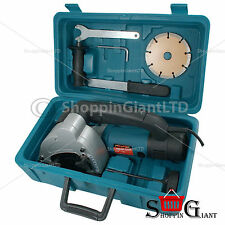 125mm 110v 1500w Electric Wall Chaser Neilsen Professional Slotter Saw Kit