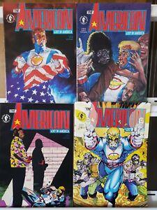 The American Lost in America 1 2 3 4 Complete Set Series Run Lot 1-4 VF/NM