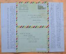 Mayfairstamps Ethiopia 1960 to Elwood Indiana Aerogramme wwi21547