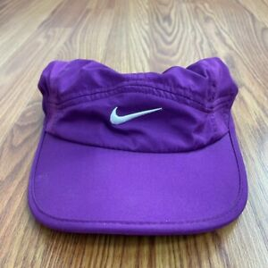 Nike Purple Featherlight Strapback Hat Osfa