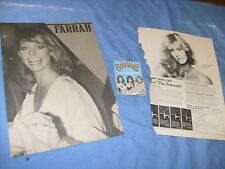 1977  Ad  The Fawcett Farrah Fawcett Jewelry necklace + 2 other Clips photos /F2