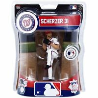 Max Scherzer Washington Nationals Imports Dragon MLB Baseball Action Figure 6""