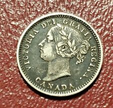1898 Canada Canadian Queen Victoria Dime 10 Cents
