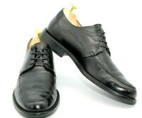 JOHNSTON & MURPHY SIGNATURE SERIES BLACK LEATHER DERBY OXFORD MEN'S SIZE 9.5M