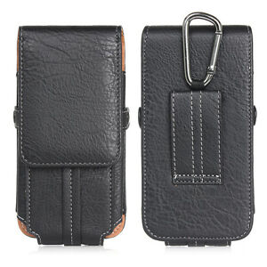 """Climbing Bag Flip PU Leather Card Case For Mobile Phone 4.7"""" 5.5"""" 6.3"""" Pockets"""