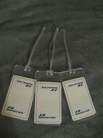 Air France Airlines AF French Vintage White Playing Card Luggage Name Tag Tags 3