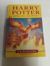 Harry Potter and the Order of the Phoenix by J.K Rowling (Hardcover)