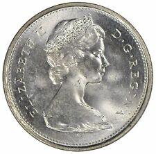1967 Canada 25 cent Quarter - ICCS MS-65