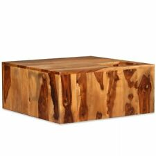 """vidaXL Solid Sheesham Wood Coffee Table 27.6"""" Tea Sofa End Couch Accent Table"""