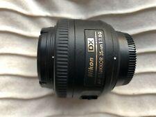 Nikon Nikkor AF-S DX 35 mm F/1.8G Lens (JAA132DA)