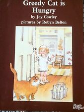 Teacher Big Book Emergent  GREEDY CAT IS HUNGRY JOY COWLEY Kinder 1st RARE