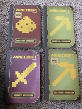 Set Of 4 Essential Minecraft Handbooks