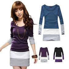 Bauchfreie Damenblusen,-Tops & -Shirts im Blusen-Stil mit Baumwollmischung