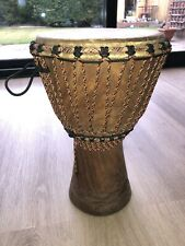 More details for djembe drum and case