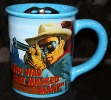 The Lone Ranger Tonto Collector Mug 18oz Large Blue Coffee Soup Cup Vandor