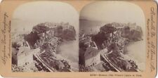 Monaco panorama Photo Stereo Stereoview Papier Citrate Vintage