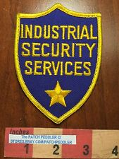Mesh Back Industrial Security Services Guard Patch ~ Possibly Cleveland OH 5DX