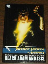 Justice Society of America Black Adam and Isis (Hardback)< 9781401225308