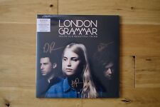 LONDON GRAMMAR - TRUTH IS A BEAUTIFUL THING - MARBLED VINYL SIGNED - SEALED