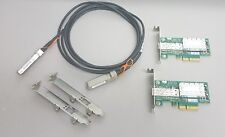 10G Netzwerk Kit 2x Mellanox ConnectX-3 10Gigabit NIC 10GBe 3m SFP+ Cisco Kabel