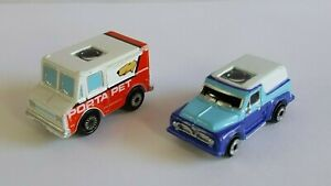 Micro Machines 1990 Private Eyes Lot GMC Stepvan Ford 50s Panel Truck 90s Galoob