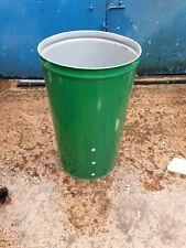 Metal fire bin refurbd 270litre barrel foodgradeLits available