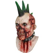 Deluxe Latex Billy Punk Gothic Zombie Horror Halloween Fancy Dress Costume Mask
