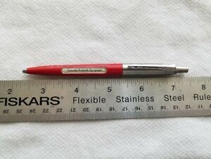 Selling a Used Vintage RED Parker Advertising Jotter Ball Point Pen.............