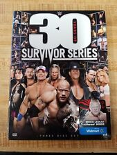 WWE 30 YEARS OF SURVIVOR SERIES DVD 3-Disc SET w/ LESNAR WALMART EXCLUSIVE NEW
